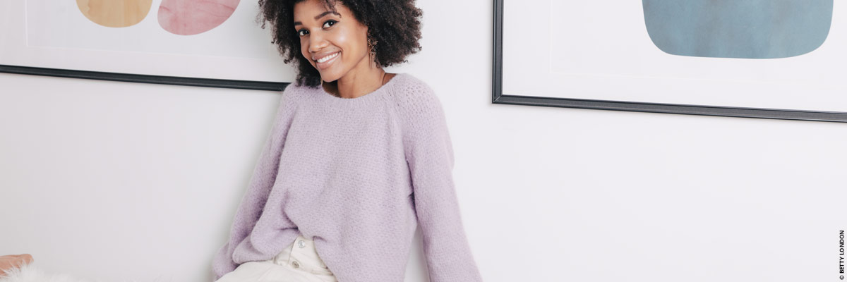 Our sleek and fine knits